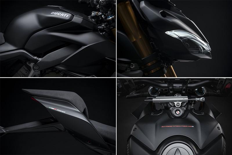 【ドゥカティ】MY 2021「ストリートファイター V4」シリーズのユーロ5適合を発表。上位モデル V4 S には新色を追加 記事3