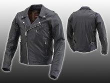 デイトナからバリュープライスの革ジャン「DL-003 ダブルライダースジャケット」が11月下旬にリリース サムネイル