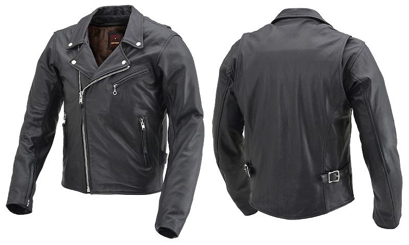 デイトナからバリュープライスの革ジャン「DL-003 ダブルライダースジャケット」が11月下旬にリリース 記事5