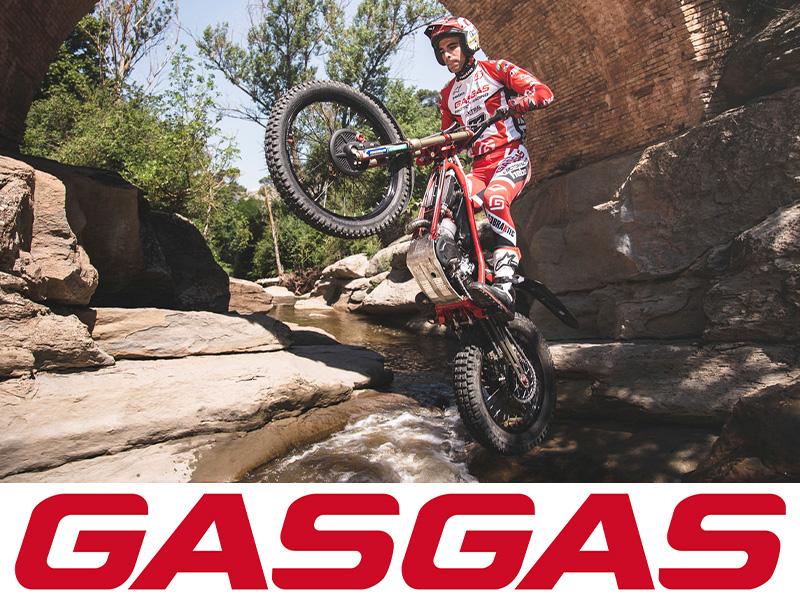 【GASGAS】全トライアルモデルのスペアパーツ供給とメーカー保証が可能に メイン