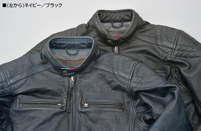 ビンテージテイストの革ジャンがこのプライス! デイトナから「DL-006 カフェライダースジャケット」が11月下旬発売 記事2