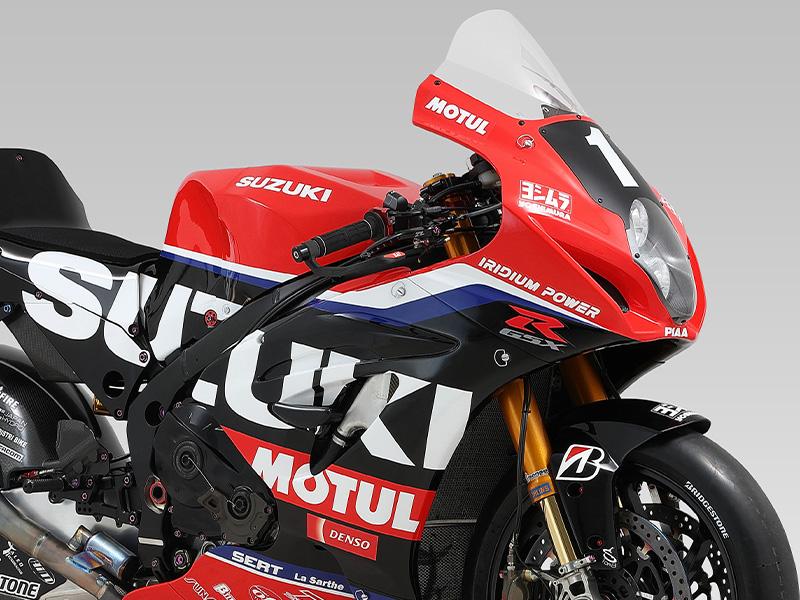 【スズキ】「2021 FIM 世界耐久選手権」にファクトリーチームとしてヨシムラジャパンと共同参戦を決定 メイン
