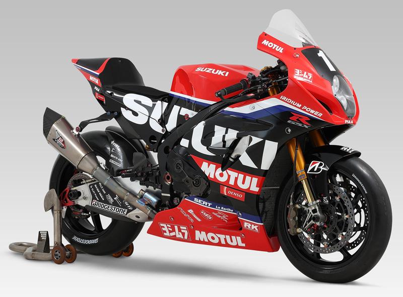 【スズキ】「2021 FIM 世界耐久選手権」にファクトリーチームとしてヨシムラジャパンと共同参戦を決定 記事1