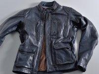 オールドテイストの本格的レザージャケット「DL-501 スクランブラージャケット」がデイトナから11月下旬発売 メイン