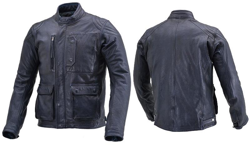 オールドテイストの本格的レザージャケット「DL-501 スクランブラージャケット」がデイトナから11月下旬発売 記事1