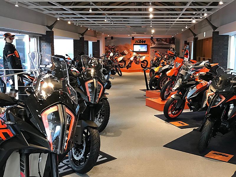 【KTM】京都のKTM のマルチショップ「ベイシストオート」が「KTM 京都」として11/21にリニューアルオープン! メイン