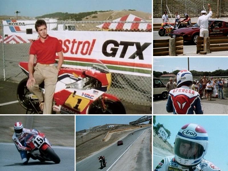 スペンサーとローソンの貴重な画像を収録した DVD「'80s W.G.P.アーカイブ(新価格版)」が11/24発売 記事1