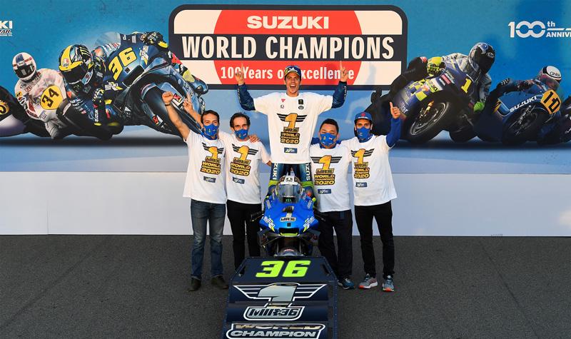 【スズキ】20年ぶりとなるタイトル奪取! バレンシア GP でジョアン・ミル選手がライダーチャンピオンを獲得 記事1