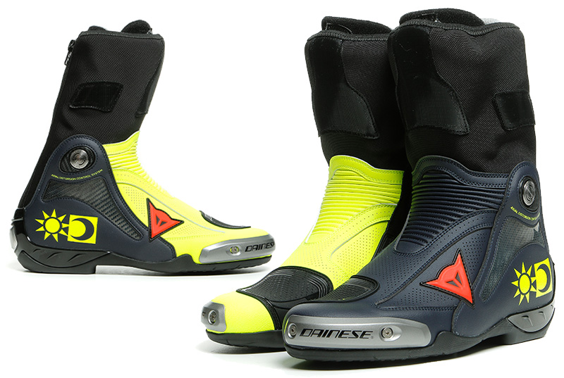 ダイネーゼからロッシレプリカブーツ「AXIAL D1 REPLICA VALENTINO BOOTS」が発売 記事1