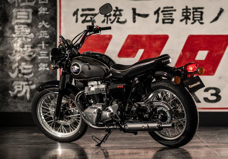 カワサキ 「メグロ」の名を冠したコメモラティブモデル MEGURO K3 記事1