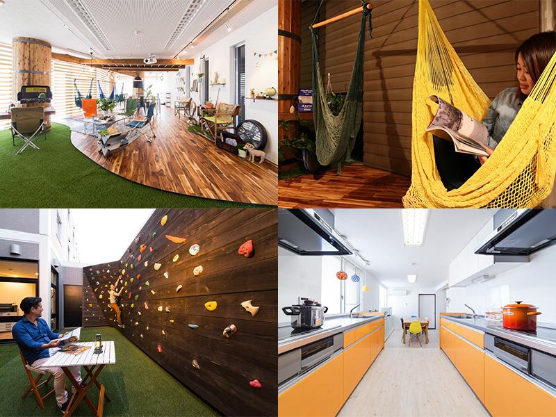室内でもキャンプや BBQ を楽しめる? 複合宿泊施設 365BASE outdoor hostel が「CAMP ダブルベッドルーム」を新設 記事7