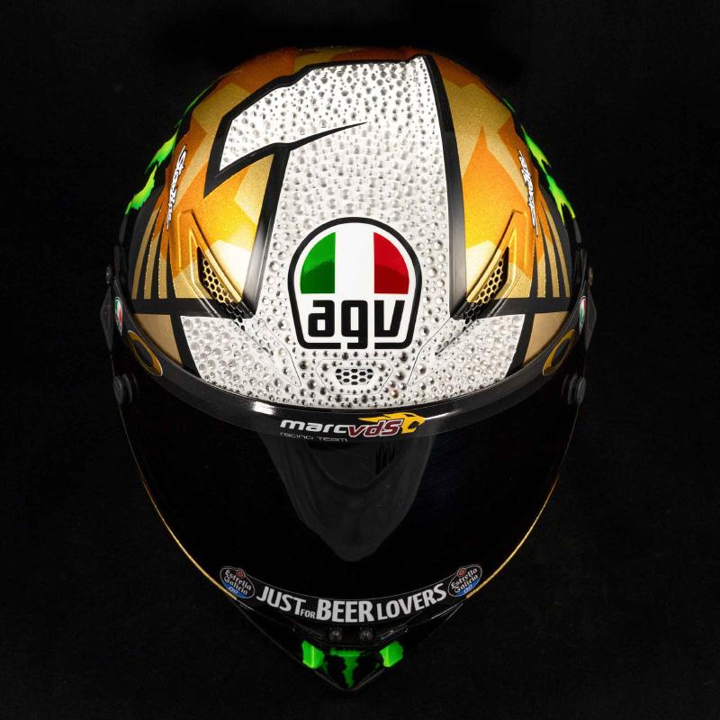 AGV からジョアン・ミル選手の優勝記念ヘルメットが登場! 全国のダイネーゼストアで先行予約受付中 記事1