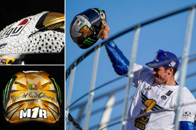 AGV からジョアン・ミル選手の優勝記念ヘルメットが登場! 全国のダイネーゼストアで先行予約受付中 記事2