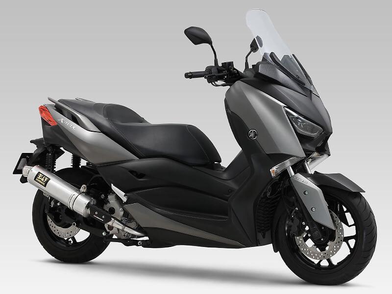 俊足250ccスクーター XMAX のパワーを引き出すマフラーがヨシムラから登場! 記事2