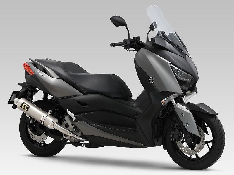 俊足250ccスクーター XMAX のパワーを引き出すマフラーがヨシムラから登場! 記事4