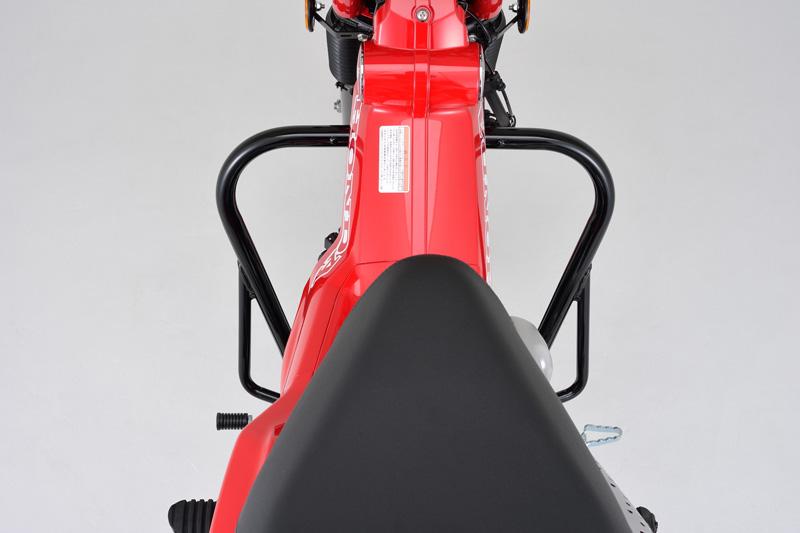 デイトナの CT125ハンターカブ用「パイプエンジンガード」に待望の新色「ブラック」登場! 12月中旬発売 記事2