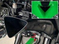 ラムエアシステムの吸気効率アップでプラス1.5馬力! トリックスターから「Ninja ZX-25R パワーインテークダクト」が登場 メイン