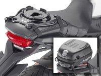 GIVI のタンクバッグがシートバッグになる?「タンクロック用シートアタッチメント」が便利! メイン