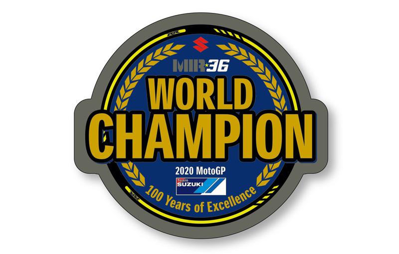 【スズキ】「2020 MotoGP ジョアン・ミル チャンピオングッズ」の予約販売をスタート! 受付は12/12まで 記事4