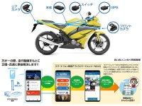ドラレコの動画をアプリで保険会社に送信! 業界初となる「保険連動対応バイク用ドライブレコーダー」が登場 メイン