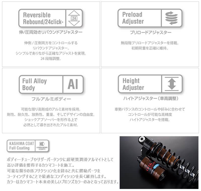 オーヴァーレーシングから特別使用のリアショック「モノショック R1 OVER×NITRON T-MAX560(20-)」が登場! 記事2