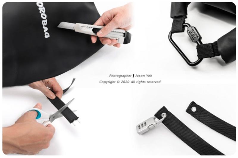 使い勝手の良い防水バッグ「ROROBAG」がクラウドファンディングサイトに登場! 記事7