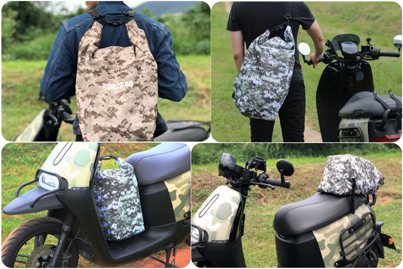 使い勝手の良い防水バッグ「ROROBAG」がクラウドファンディングサイトに登場! 記事9