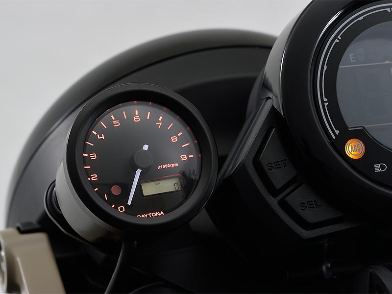 デイトナの「VELONA(TM)電気式タコメーターキットφ48」に CT125 ハンターカブに用が追加! 発売は2月上旬 メイン