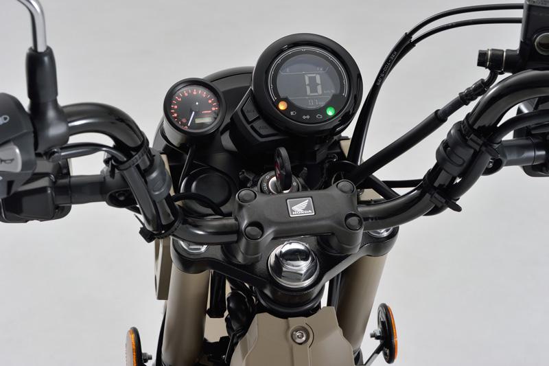 デイトナの「VELONA(TM)電気式タコメーターキットφ48」に CT125 ハンターカブに用が追加! 発売は2月上旬 記事1