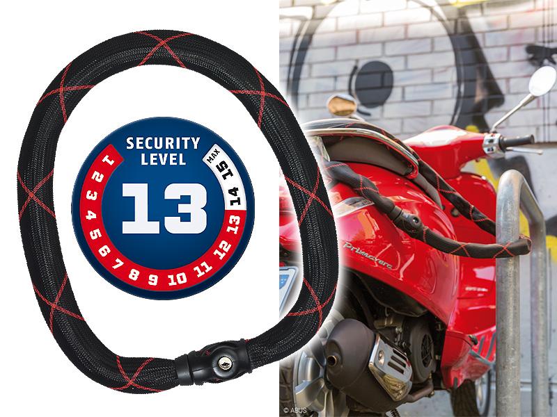 ABUS からセキュリティーレベル「13」を誇る新製品「Ivy Steel-O-Chain 9210」が2/1発売 メイン