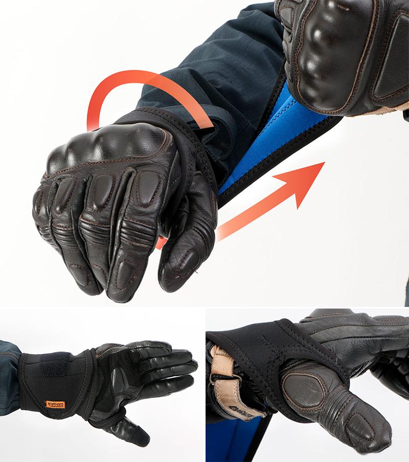 ジャケットとパンツに「巻くだけ」のカンタン防寒アイテムがドッペルギャンガーから登場 記事9