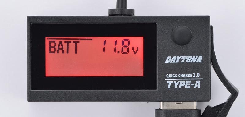 デジタル電圧計&USB電源 Type-A「e+CHARGER」がデイトナから発売 記事2