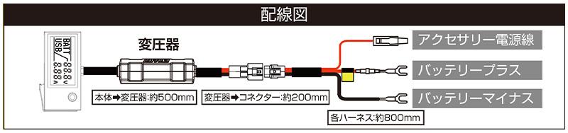 デジタル電圧計&USB電源 Type-A「e+CHARGER」がデイトナから発売 記事4