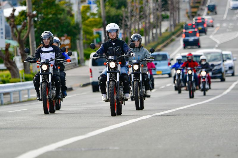 【ヤマハ】「お客様の気持ちを理解することが大切」女性従業員限定のバイクレッスンを実施 記事3