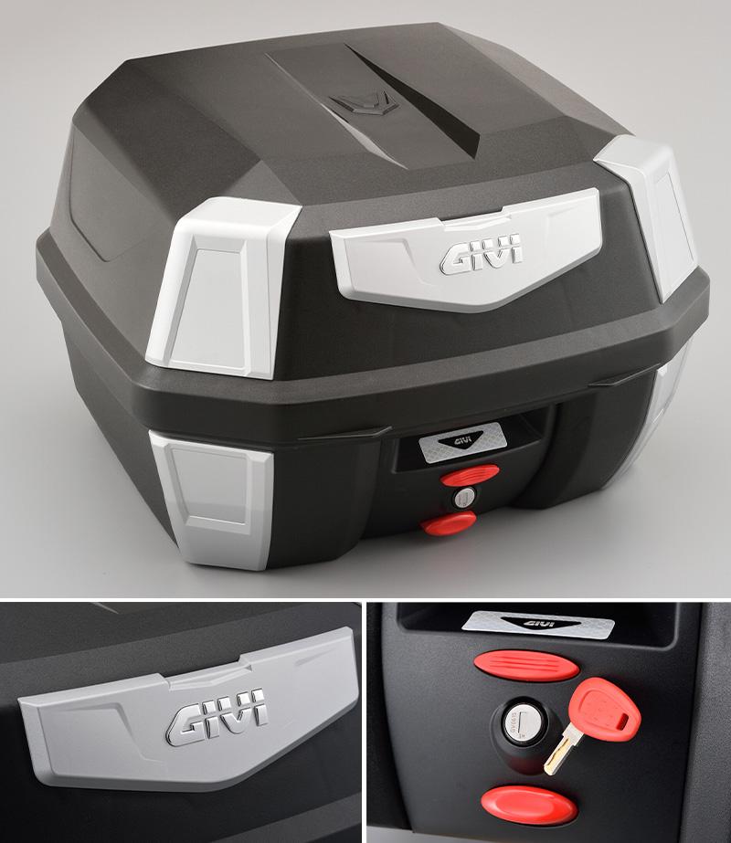 ハードなデザインが魅力のモノロックケース「GIVI B42N ANTARTICA シリーズ(ストップランプ無し)」が1月下旬発売 記事1