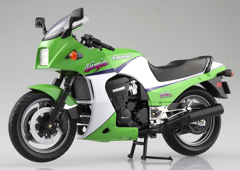 「ニンジャ」と言えばこれ! 塗装済みスケールモデル「1/12 完成品バイク KAWASAKI GPZ900R」が2021年5月にアオシマから発売予定 記事1