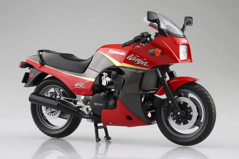 「ニンジャ」と言えばこれ! 塗装済みスケールモデル「1/12 完成品バイク KAWASAKI GPZ900R」が2021年5月にアオシマから発売予定 記事4