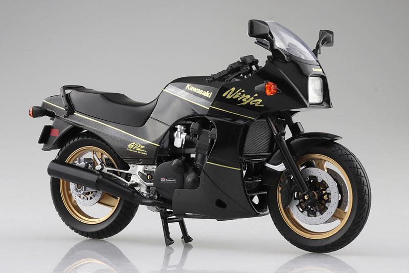 「ニンジャ」と言えばこれ! 塗装済みスケールモデル「1/12 完成品バイク KAWASAKI GPZ900R」が2021年5月にアオシマから発売予定 記事5