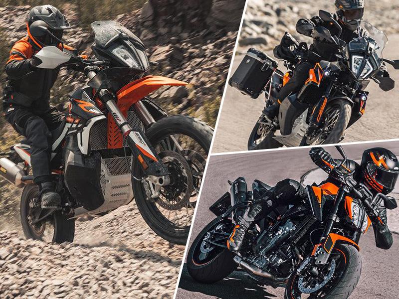 【KTM】ニューモデルを含む2021年型ストリートモデル全7機種を2~5月に発売 メイン