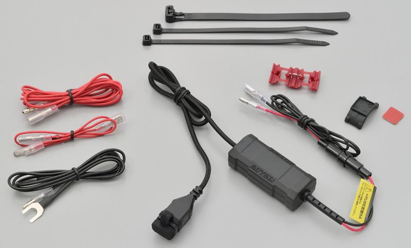このコンパクトさで急速充電対応! デイトナの「バイク専用 USB 電源 Type-C」なら配線もカンタン! 記事6