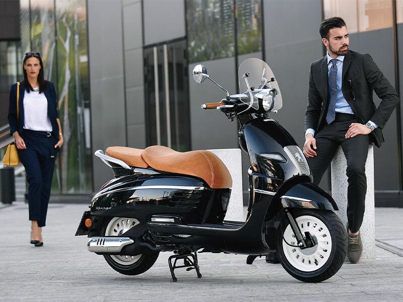 プジョーモトシクル ジャンゴ50 ジャンゴ125 ジャンゴ150 2021年モデル メイン