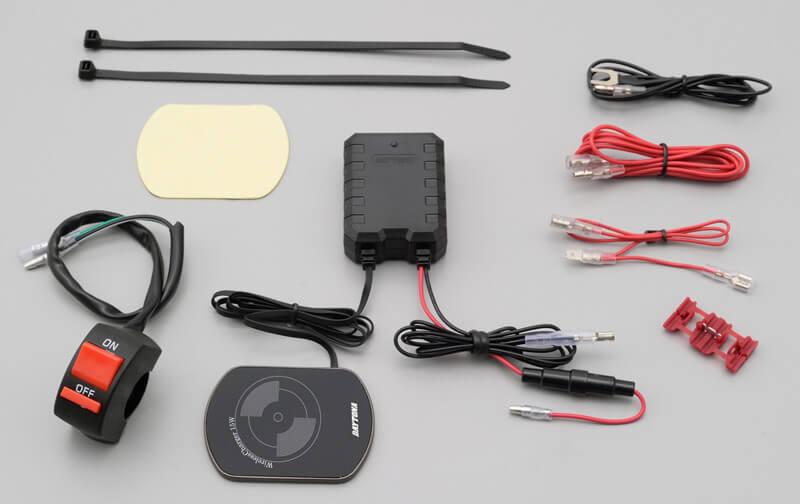 スマートフォンホルダーをワイヤレス電源化できる! デイトナの「ワイヤレス充電器(Qi 規格対応)15W」が2月下旬発売 記事4