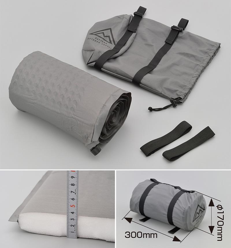 デイトナから NANGA(R)別注の3シーズンタイプの寝袋が3月上旬発売! 記事6
