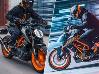 【KTM】MY2021ストリートモデル5機種を2月に発売予定 メイン