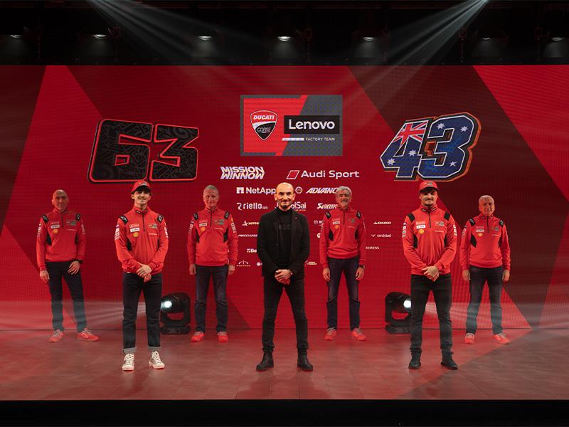 【ドゥカティ】2021年の MotoGP 参戦体制をオンラインで発表 メイン