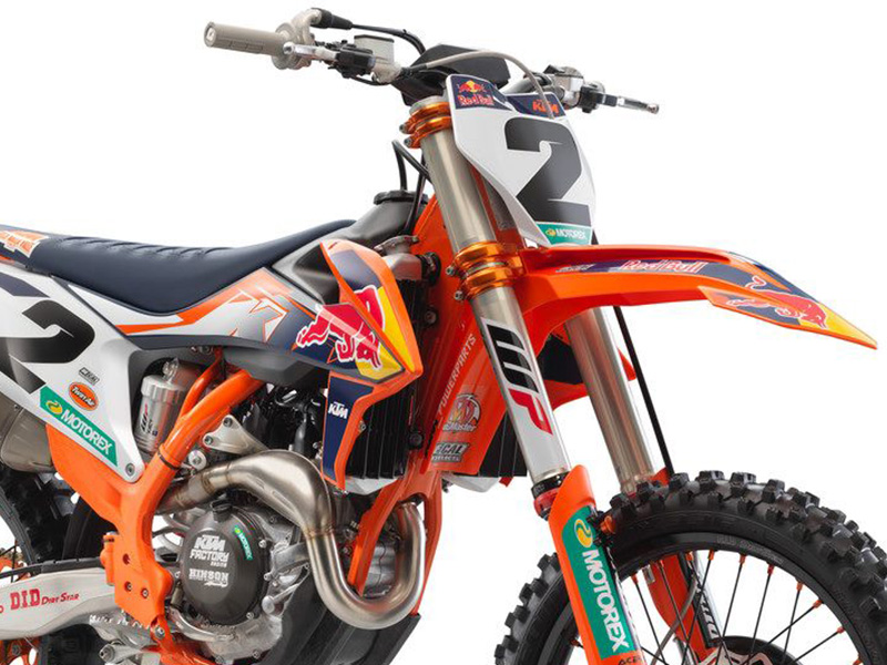 KTM 450 SX-F FACTORY EDITION 2021年モデル メイン