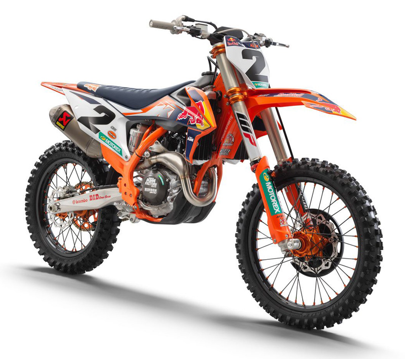 KTM 450 SX-F FACTORY EDITION 2021年モデル 記事1