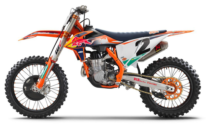 KTM 450 SX-F FACTORY EDITION 2021年モデル 記事2