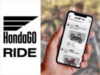 【ホンダ】スマートフォン向けアプリ「HondaGO RIDE」の提供を4/19より開始 メイン