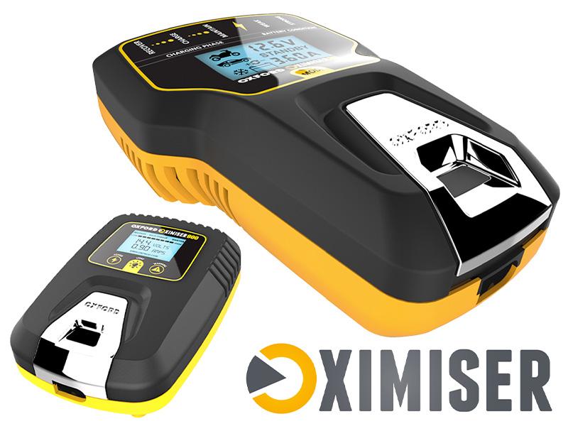 冬場に弱ったバッテリーを回復! 電圧を表示できる OXFORD のスマートバッテリーチャージャー2モデルが2/22発売 メイン